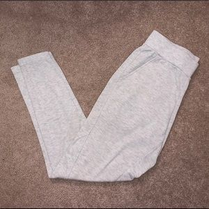 Jockey grey joggers/sweatpants